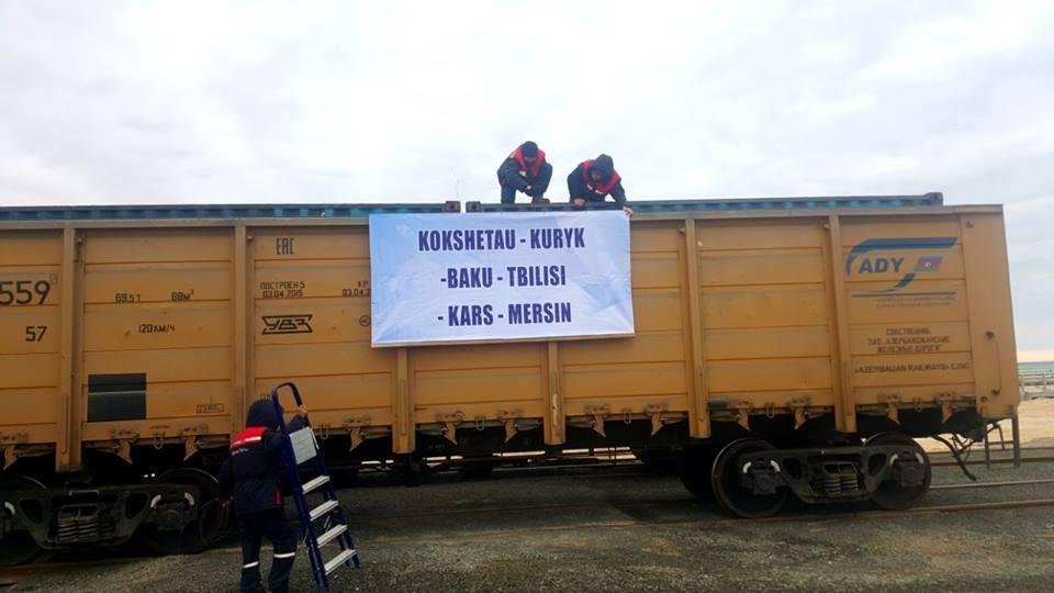 Кража рельсов сучастка железной дороги Баку-Тбилиси-Карс: Троих задержали