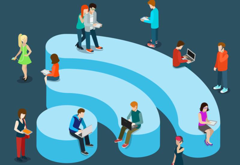 Бесплатный Wi-Fi в Баку охватил 4 млн человек