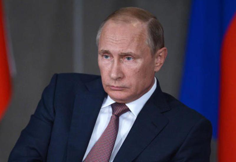 Putin Sankt-Peterburqda marketdəki partlayışı terror aktı adlandırdı