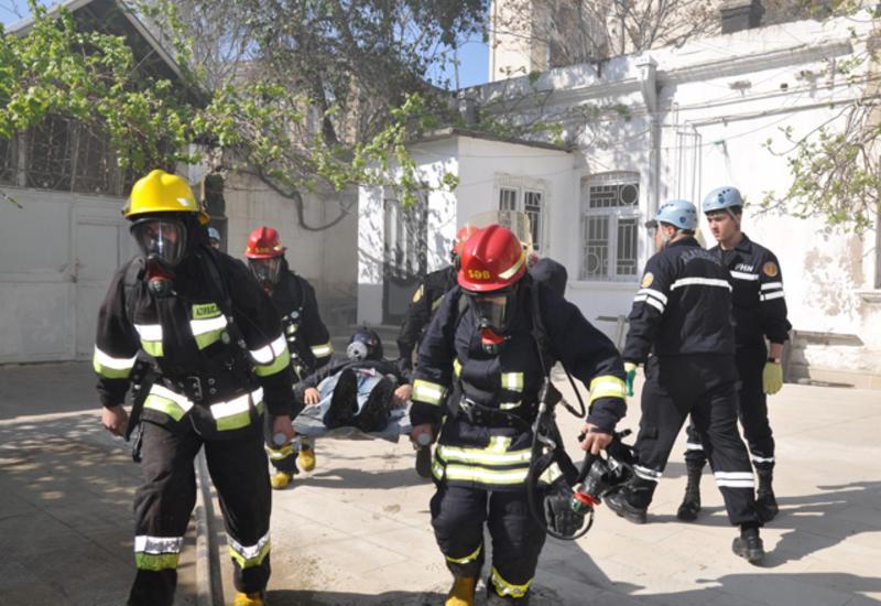 В Азербайджане стартовали учения спасателей прикаспийских стран