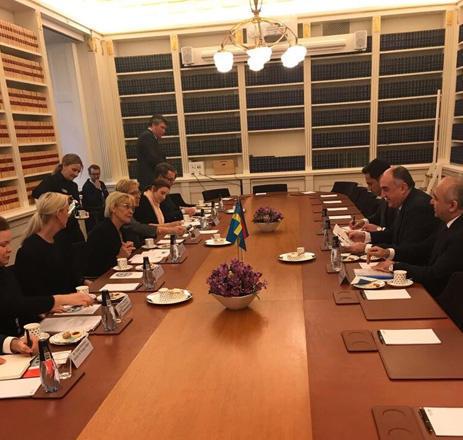 Эльмар Мамедъяров встретился спредседателем Комиссии Африканского Союза