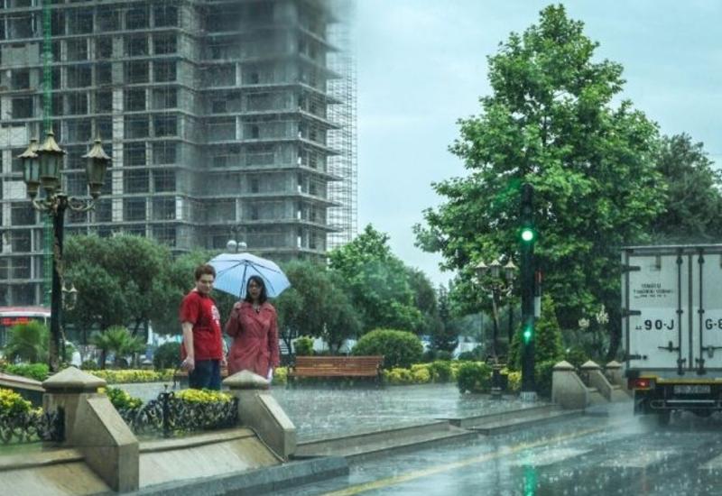 Праздничный день в Баку будет дождливым