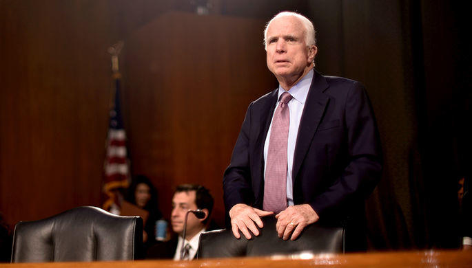 Маккейн: Доверие Трампа кПутину— это угроза нацбезопасности США