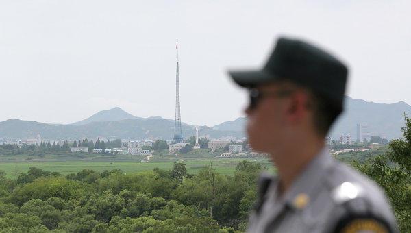 ВЮжную Корею убежал подстреленный военный КНДР