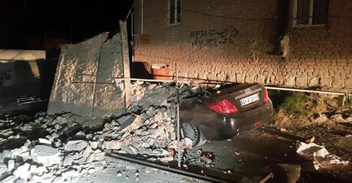 Землетрясение наирано-иракской границе: число погибших превысило 160 человек