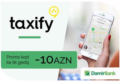DəmirBank-dan Taxify ilə pulsuz gedişlər