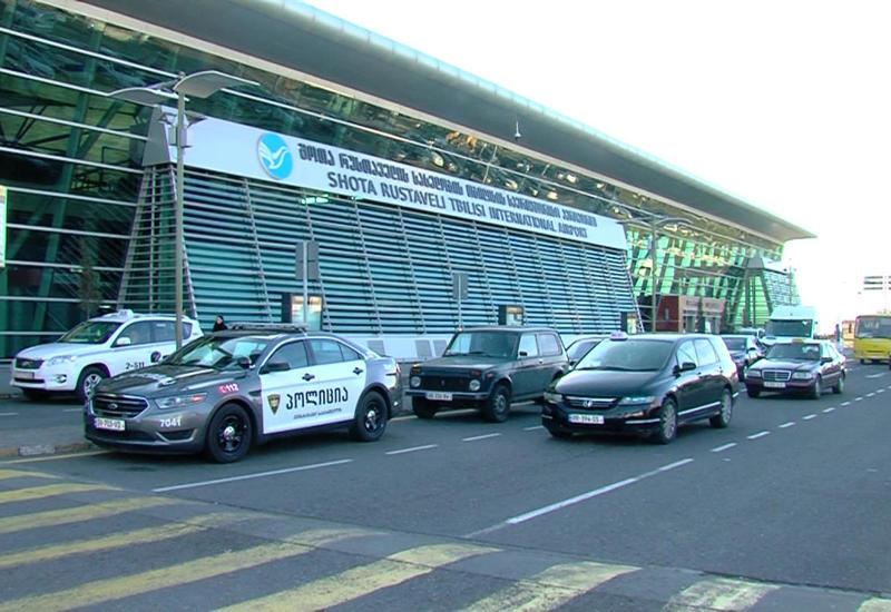 Tbilisi hava limanı bağlandı - BOMBA HƏYƏCANI