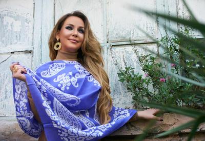 """Милена Набиева стала героиней новой фотосессии бренда """"Azerbaijan Kelagayi"""""""