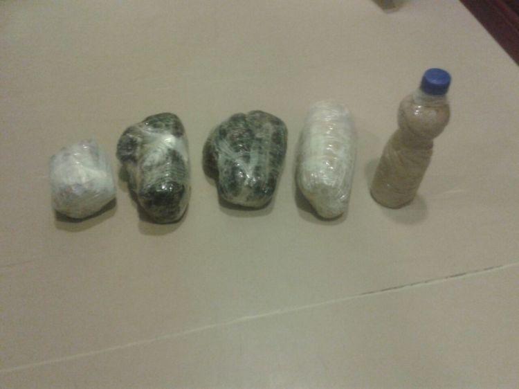 Азербайджанские пограничники задержали лодку с наркотиками
