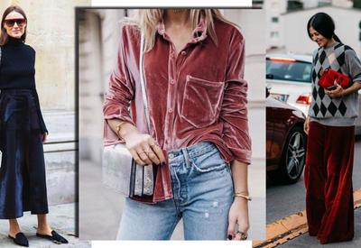 """Как носить бархатные вещи в 2018 году - 4 модные идеи <span class=""""color_red"""">- ФОТО</span>"""