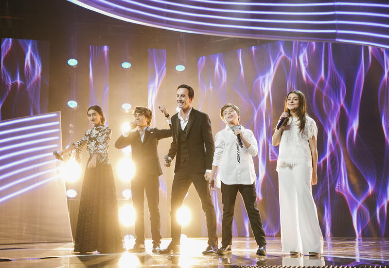 """Азербайджан на музыкальном шоу """"Во весь голос"""" <span class=""""color_red"""">- ФОТО</span>"""