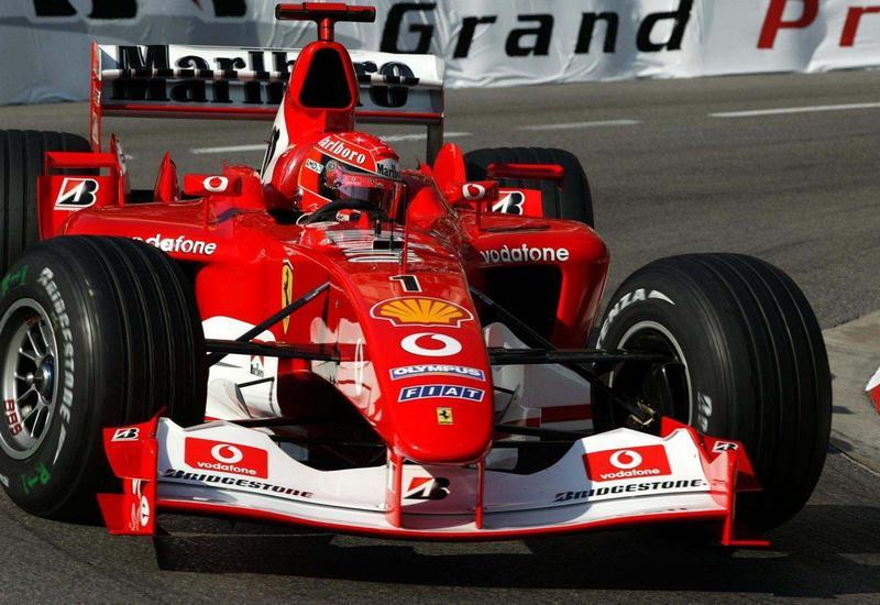 Гоночный болид Шумахера продали за $7,5 миллиона