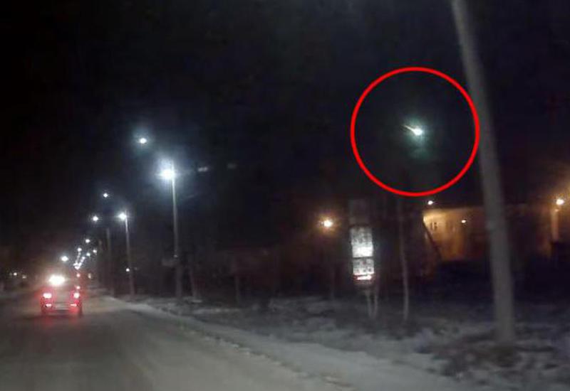 В небе над Мурманской областью вспыхнул метеор