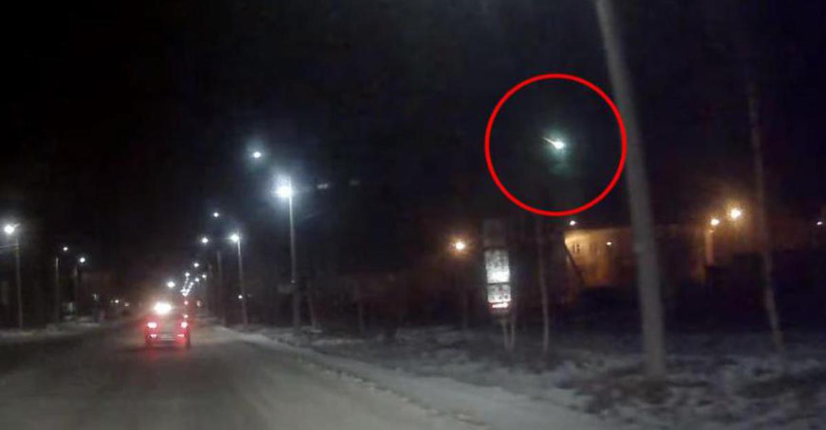 В Российской Федерации сняли навидео таинственную вспышку внебе