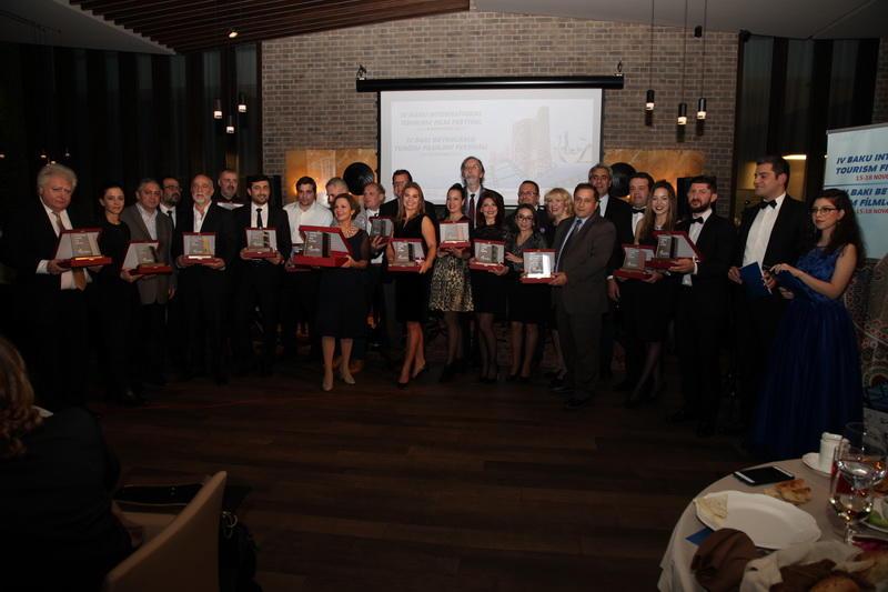 Названы победители IV Бакинского международного фестиваля туристических фильмов - ФОТО