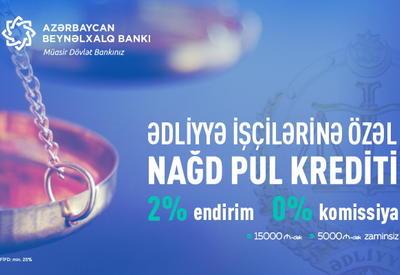 Международный банк Азербайджана представляет новую кампанию для работников юстиции