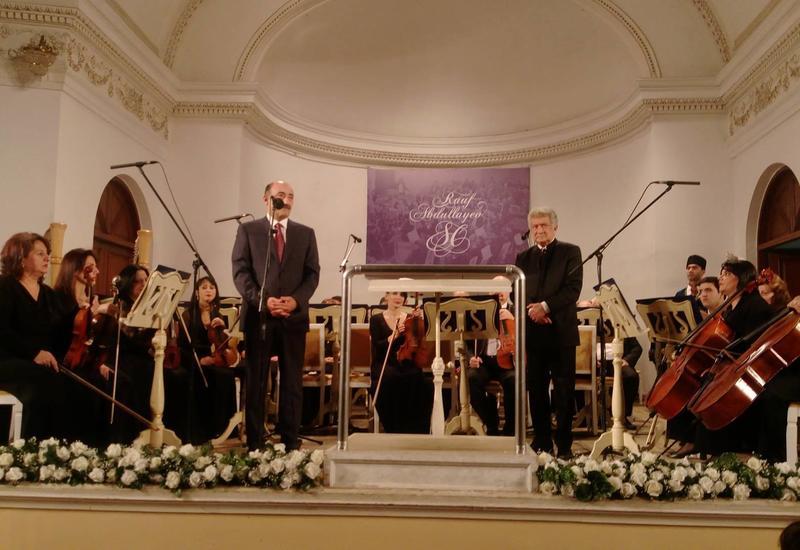 В Филармонии грандиозным концертом отметили юбилей маэстро Рауфа Абдуллаева