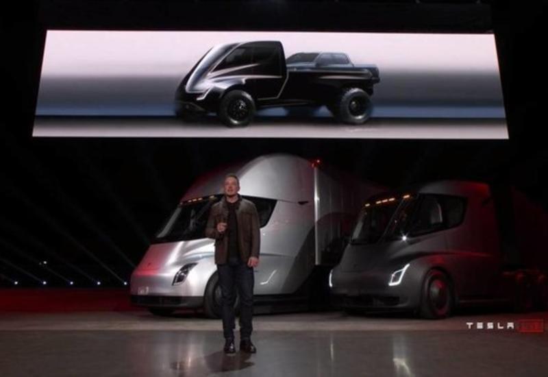 """Появились изображения первого электрического пикапа Tesla <span class=""""color_red"""">- ФОТО</span>"""