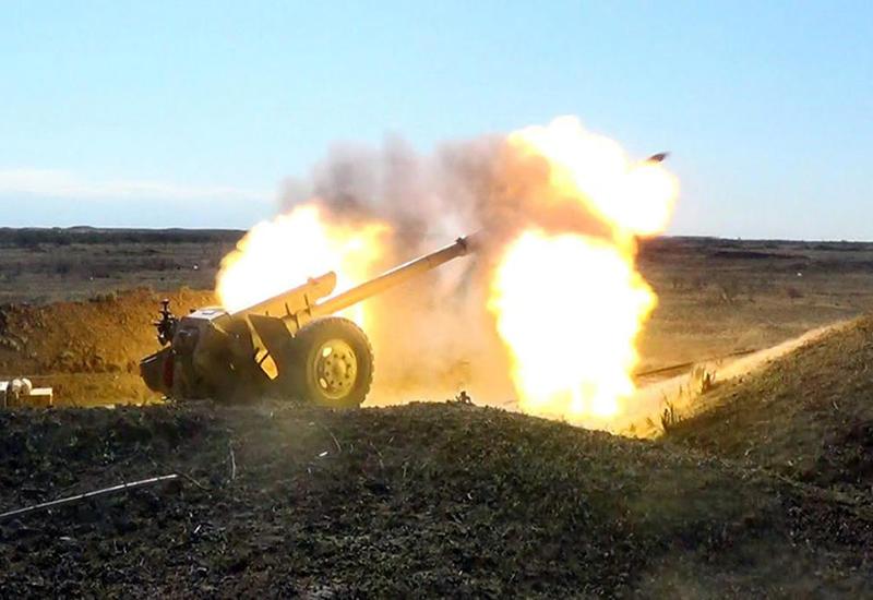 """Азербайджанская армия отрабатывает наступательную операцию <span class=""""color_red"""">- ВИДЕО</span>"""
