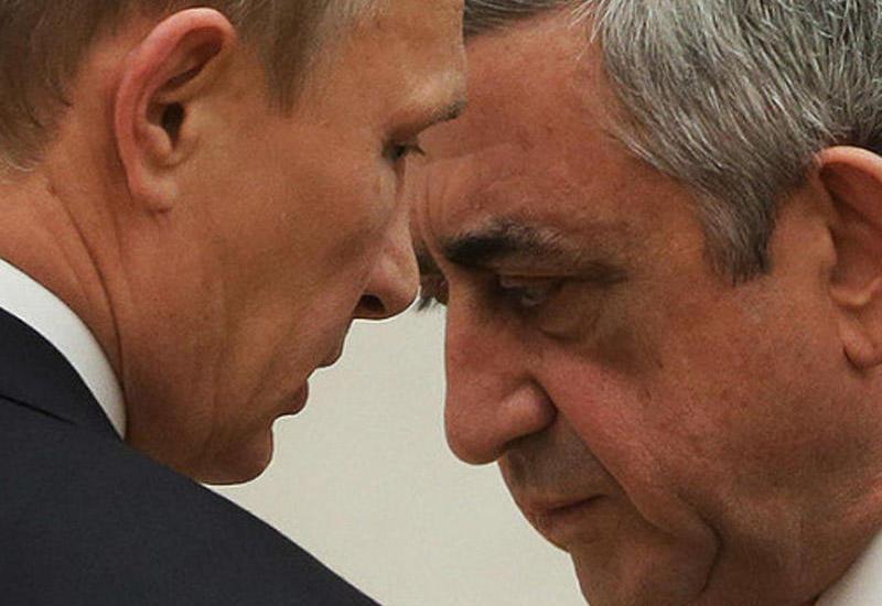 """Putin-Sarkisyan görüşü """"döyülmüş it"""" atmosferində keçib <span class=""""color_red"""">- VİDEO</span>"""