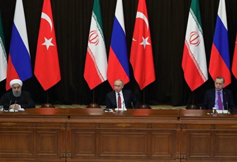 Дамаск поприветствовал заявление лидеров России, Турции и Ирана по Сирии