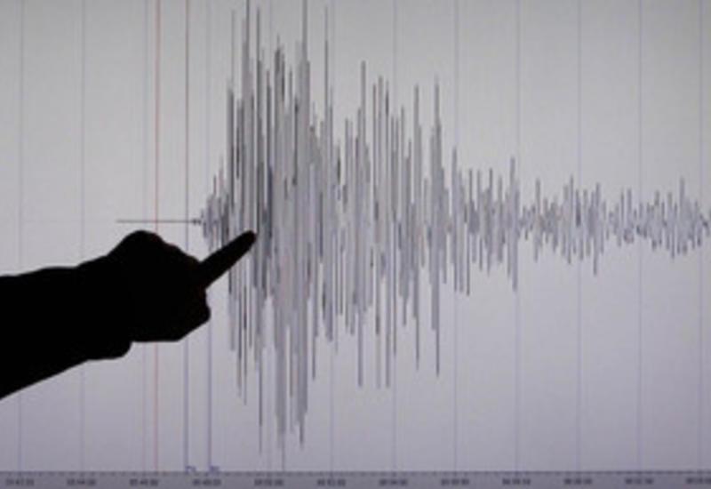 На Каспии вновь произошло землетрясение