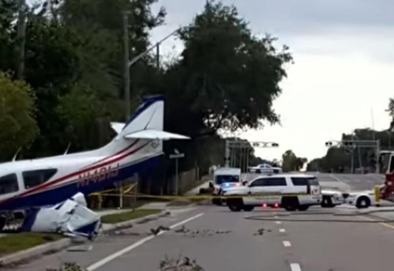 """Кадры жесткой посадки самолета в Оттаве <span class=""""color_red"""">- ВИДЕО</span>"""