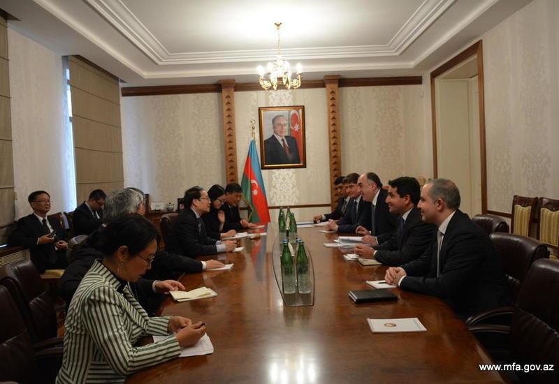 """Азербайджан заинтересован в более активном участии китайских компаний в ненефтяном секторе <span class=""""color_red"""">- ФОТО</span>"""