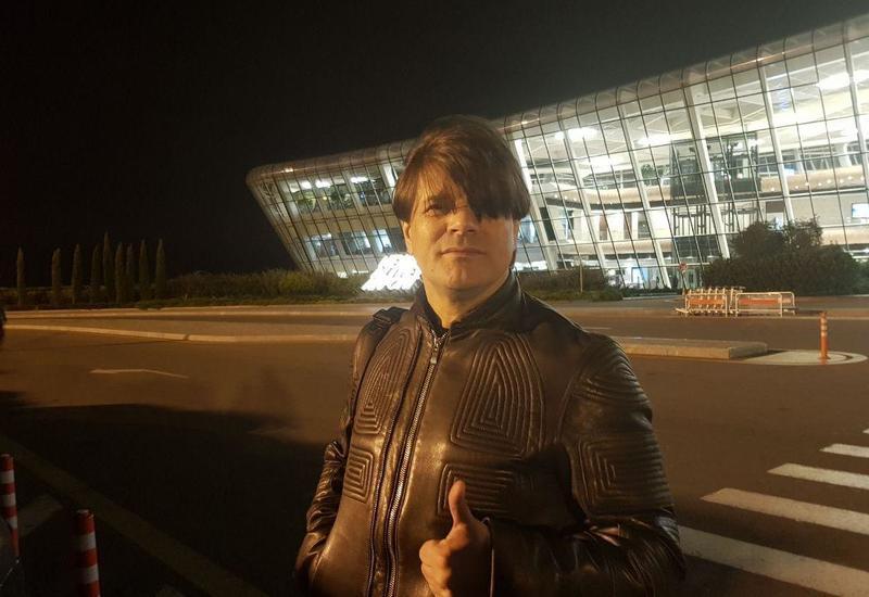 "Николай Трубач приехал в Баку <span class=""color_red"">- ФОТО</span>"