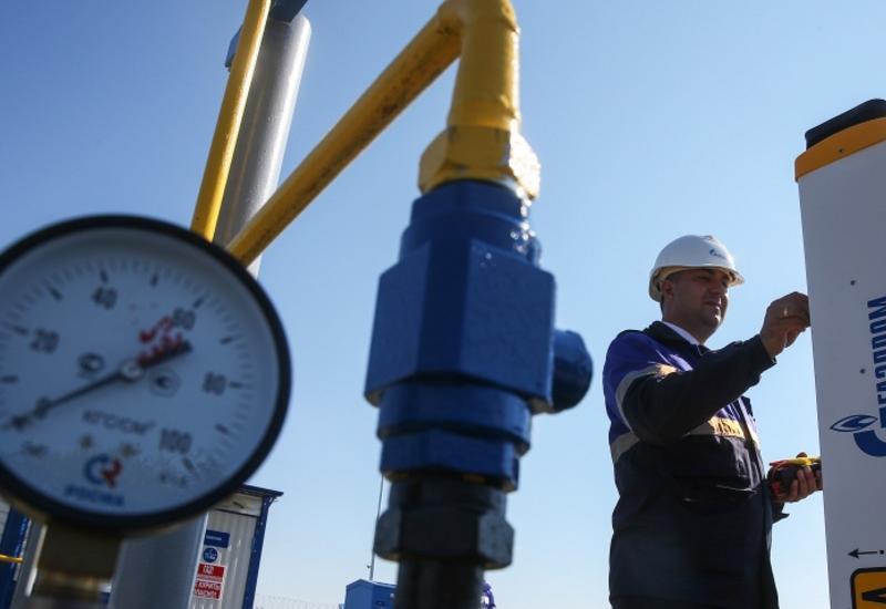 """""""Газпром"""" начал поставки газа в Азербайджан"""