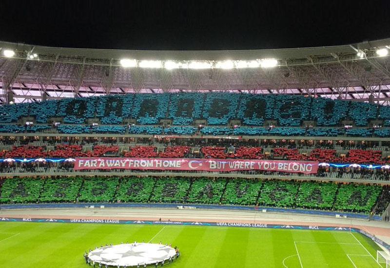 """""""Qarabağ""""ın xoreoqrafiyasında """"Fənərbağça"""" """"əli"""" və """"Qurban Qurbanov"""" stadionu <span class=""""color_red"""">- FOTO</span>"""