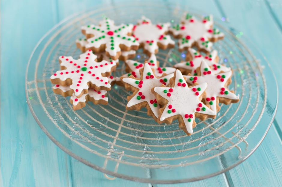печенье новогоднее с глазурью рецепт с фото