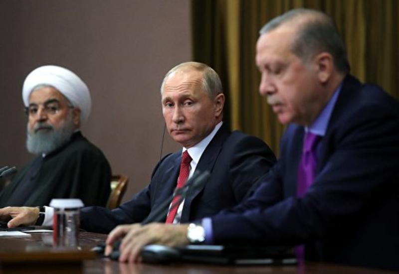 В СБ ООН распространили заявление Путина, Роухани и Эрдогана по Сирии