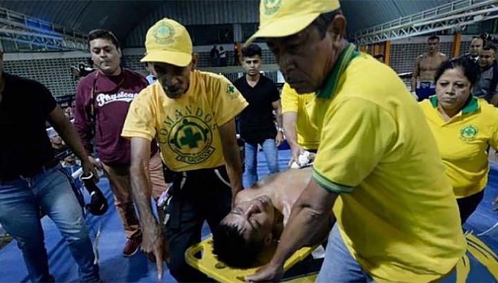 Боксер скончался после нокаута