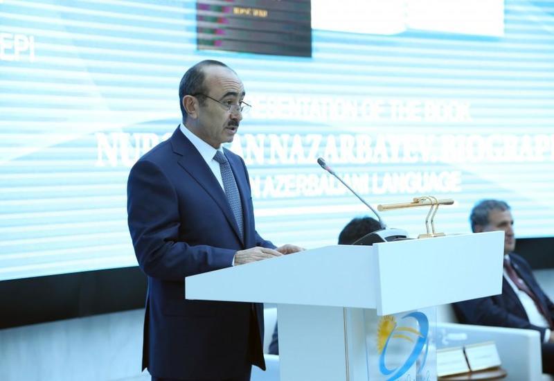 Али Гасанов рассказал о дружественных и братских отношениях между Азербайджаном и Казахстаном