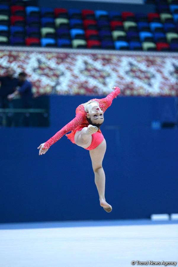 Лучшие моменты чемпионатов Азербайджана и первенств Баку по 4 гимнастическим дисциплинам