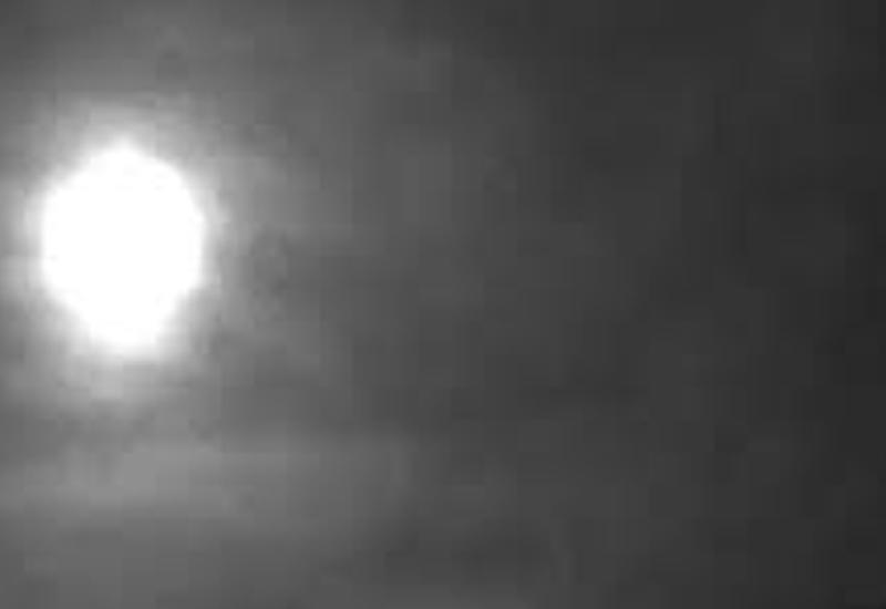 Яркий метеор в небе над Британией удалось снять на камеры