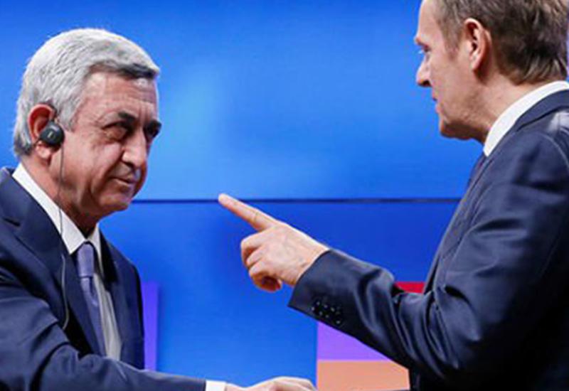 В Брюсселе знают, что Саргсян водит Европу за нос