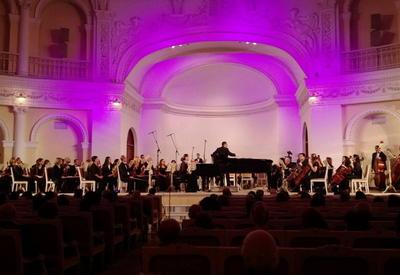 "В Филармонии блестящим концертом отметили юбилей композитора Азада Захида <span class=""color_red"">- ФОТО</span>"