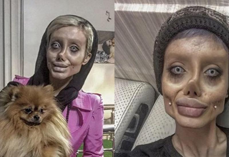 """""""Иранская Джоли"""", похожая на """"труп невесты"""", раскрыла секрет своей внешности"""