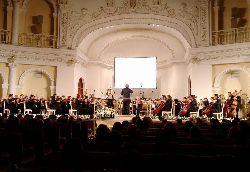 В Филармонии прошел грандиозный концерт, посвященный юбилею Эмина Сабитоглу