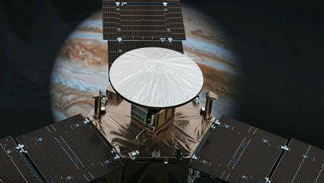 Все оттенки синего: NASA показало фото своеобразной системы облаков Юпитера