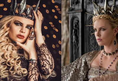 """Азербайджанская модель примерила образ злой королевы Равенны <span class=""""color_red"""">- ФОТО</span>"""