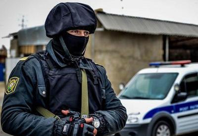 В Баку обезврежен преступник, оказавший вооруженное сопротивление полиции