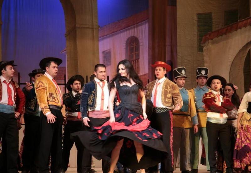 Игры страстей в интернациональной «Кармен» на сцене Театра оперы и балета