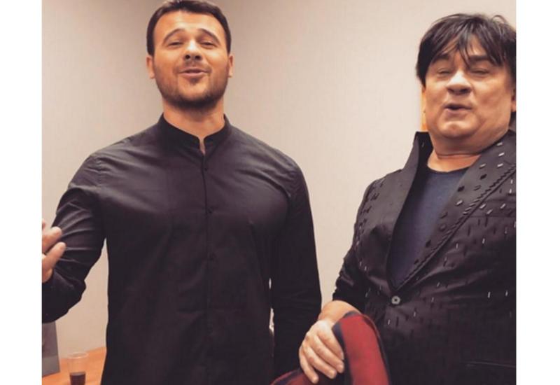 EMIN и Александр Серов исполнили песню из репертуара Рашида Бейбутова