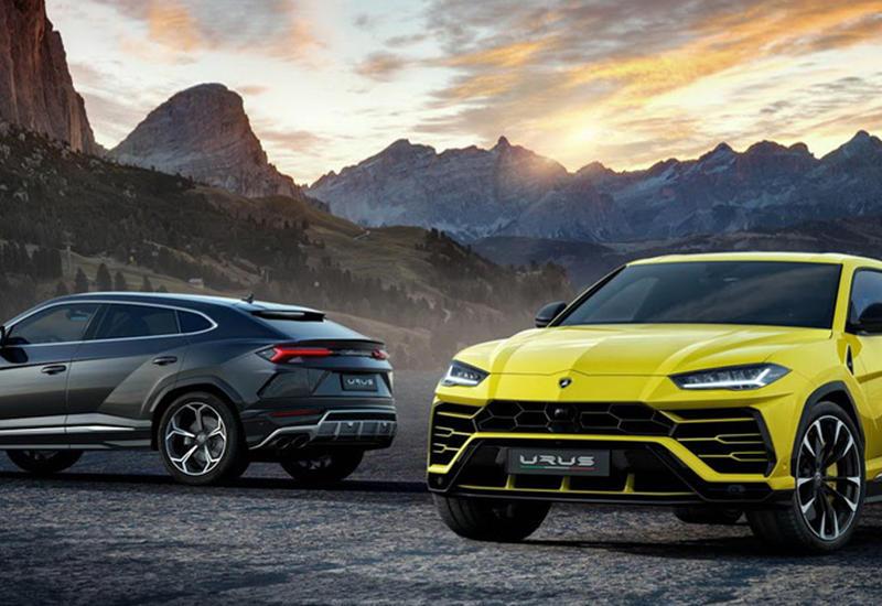 Lamborghini показал самый быстрый в мире внедорожник