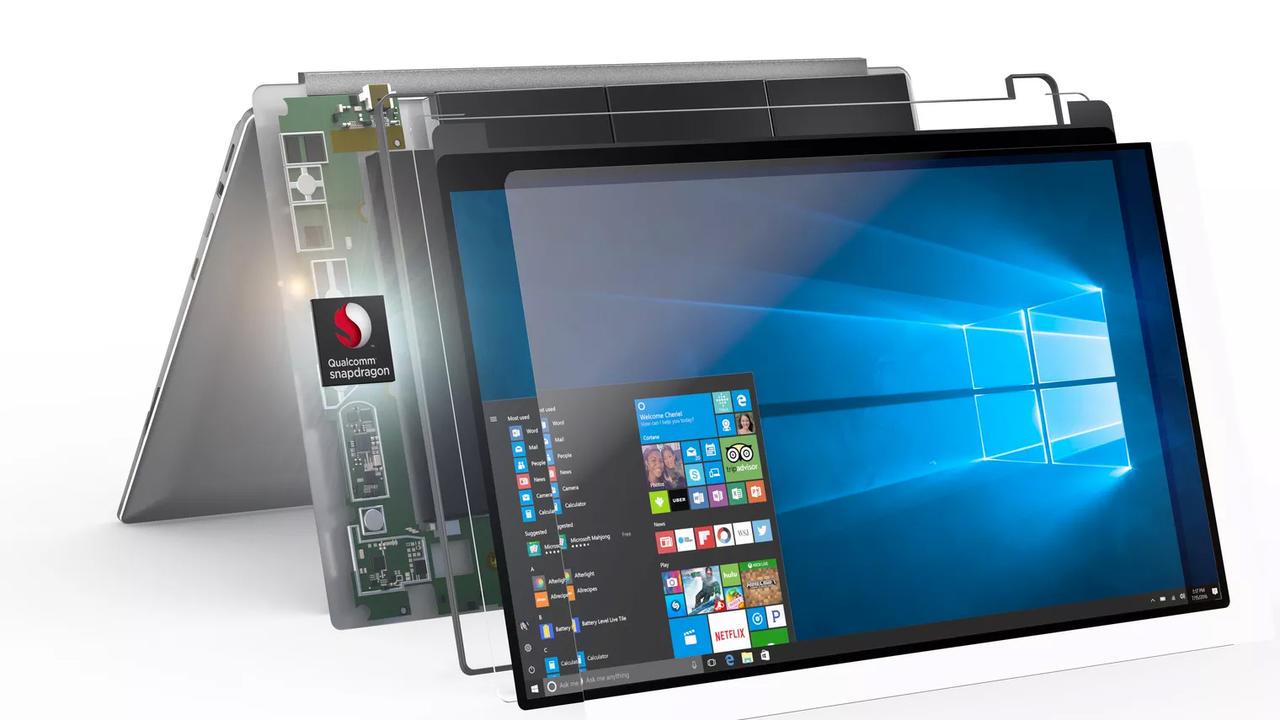 Qualcomm иMicrosoft анонсировали первые ARM-ноутбуки сWindows 10