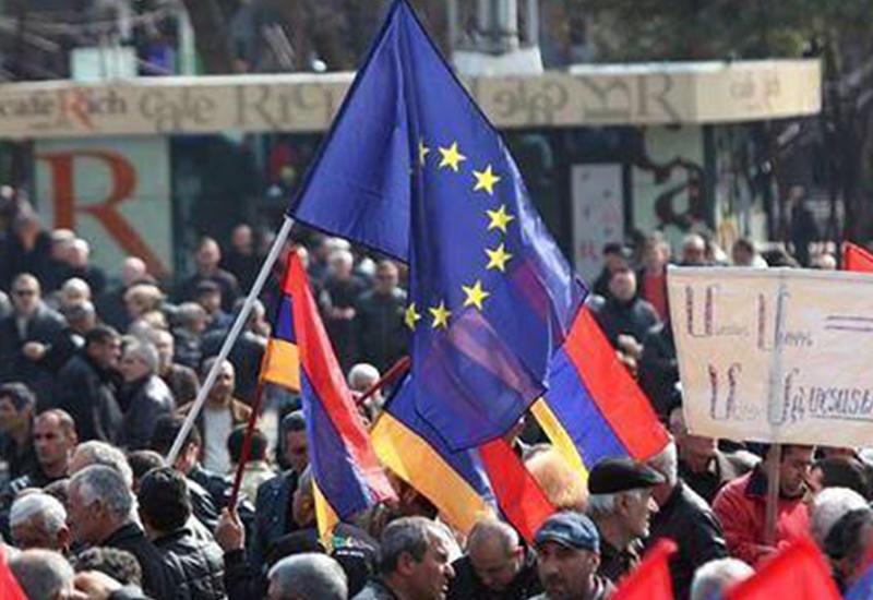 Армения превращается в черную дыру для денег Евросоюза