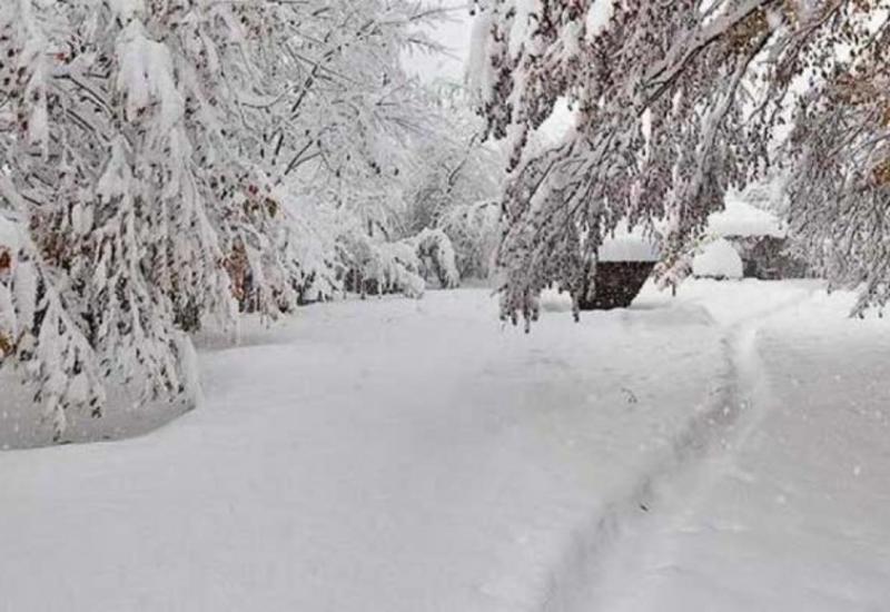 В Губе выпало 28 см снега